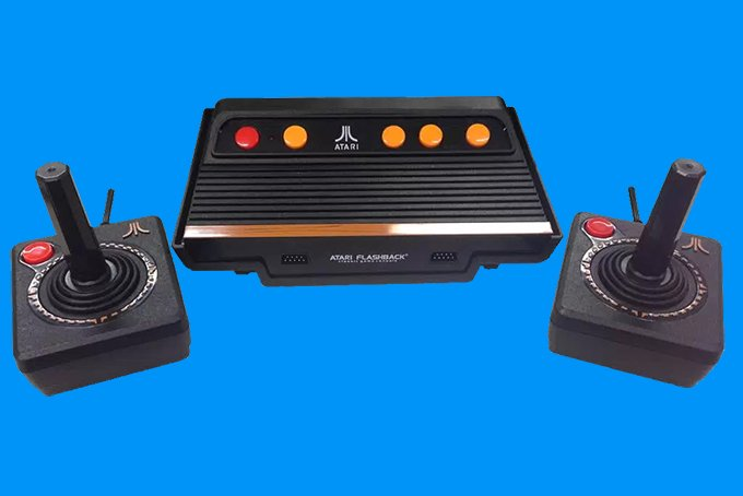 O Atari voltou? Console virá com jogos na memória por R$ 499: https://t.co/sVLIpCW1td