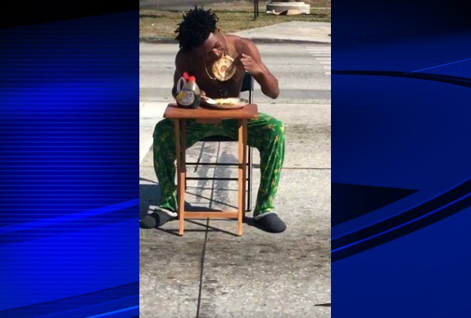Florida Man Arrested For Eating Pancakes in Middle of Crosswalk https://t.co/ifzw8WN0An