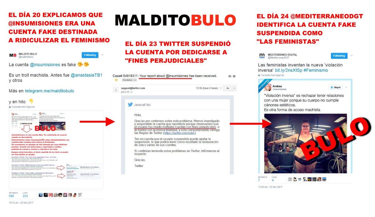 RT @malditobulo: ¿Oye, @MediterraneoDGT ¿Estáis usando los bulos que desmentimos para hacer vuestras