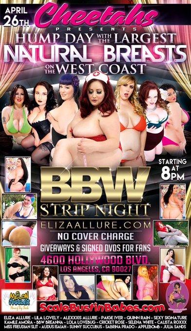 #BBW #strippers #plussizestrippersinLA https://t.co/kCjPGoL8Eh
