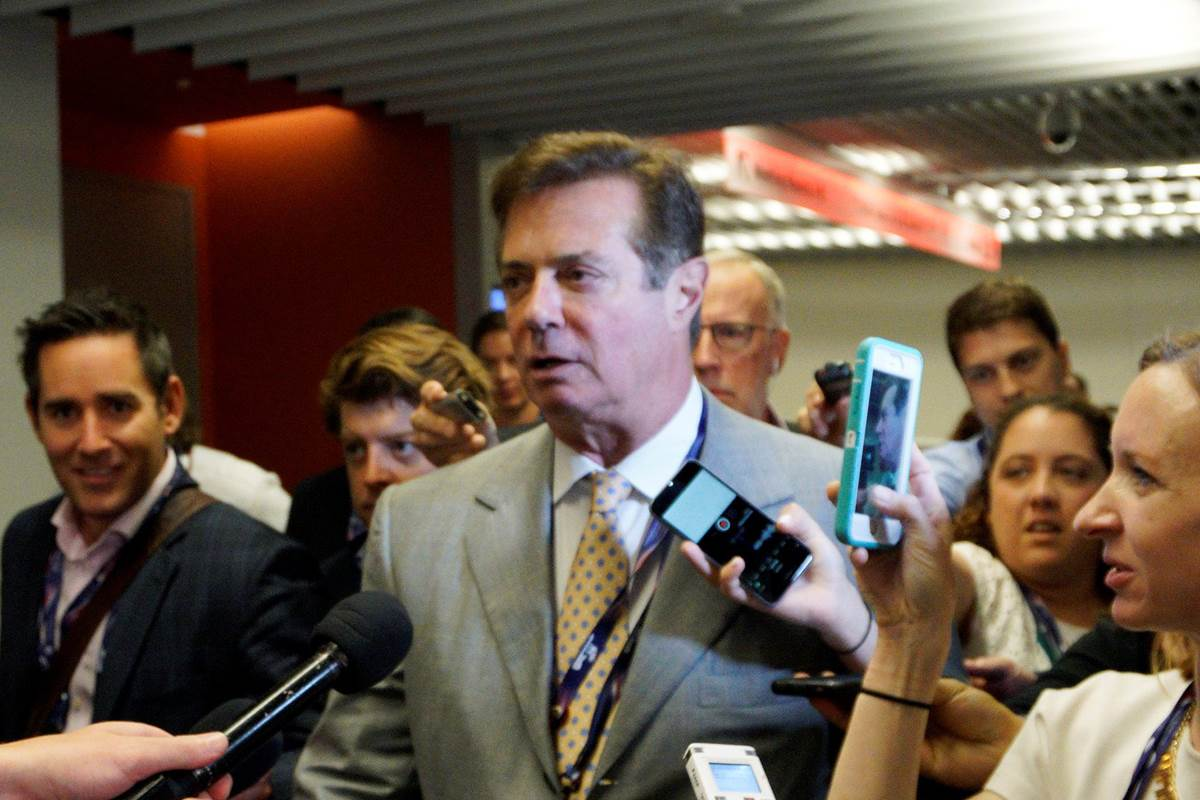 Paul Manafort will voluntarily go before the House Intel committee in its Russia probe