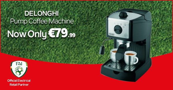 This Delonghi Pump Coffee Machine provides a perfect cappuccino w/ a rich & creamy froth! - https://t.co/zjemITIi4G https://t.co/jKHPGfaVBd