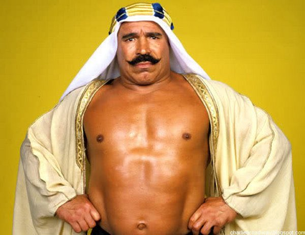 "Happy 75th belated birthday to Hossein ""The Iron Sheik\"" Khosrow"