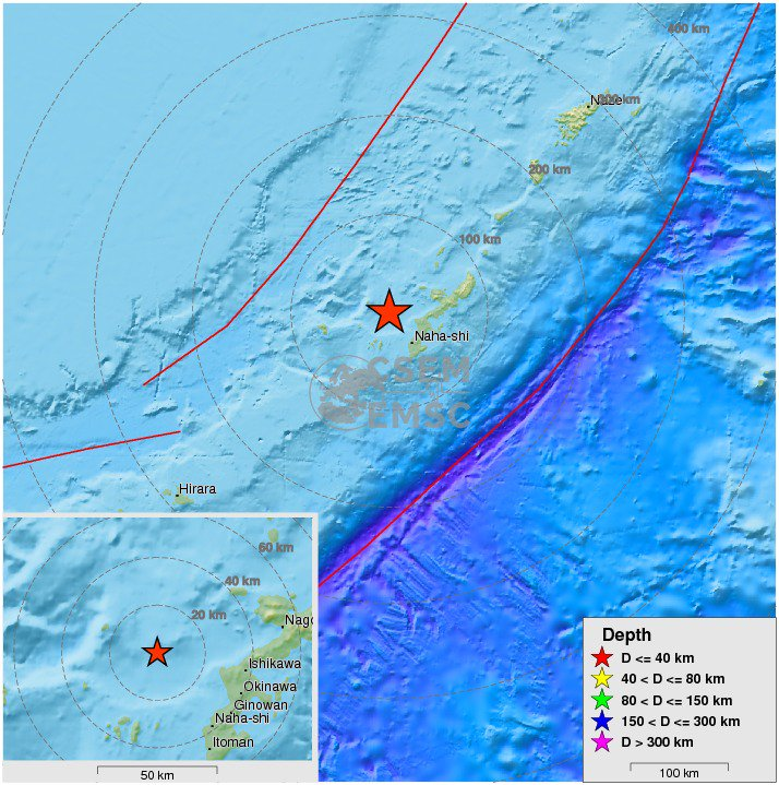 Felt #earthquake M5.2 strikes 38 km NW of #Naha-shi (#Japan) 10 min ago. Please report to: https://t.co/b43IYRJDmo