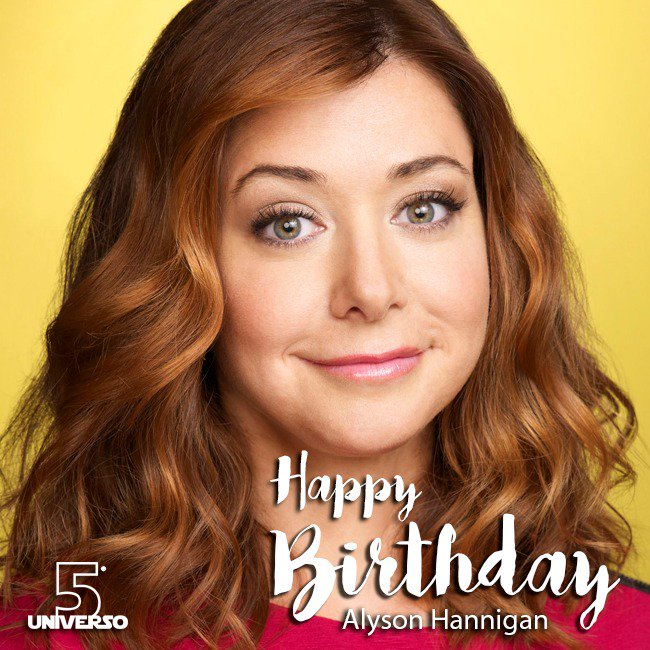 Happy Birthday, Alyson Hannigan!