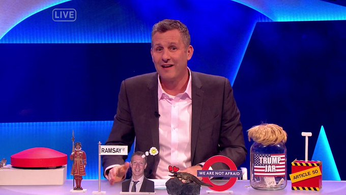 The Last Leg responds to events in London as only #TheLastLeg can...
