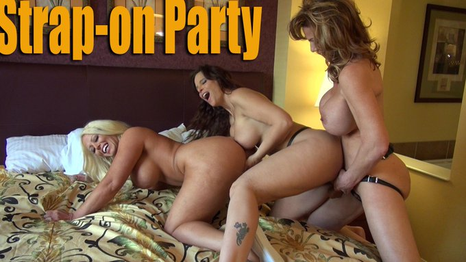 "Also coming soon, ""Strap-On Party"" with @SyrenDeMerXXX and @AluraJenson https://t.co/yO0FlJqrtx"