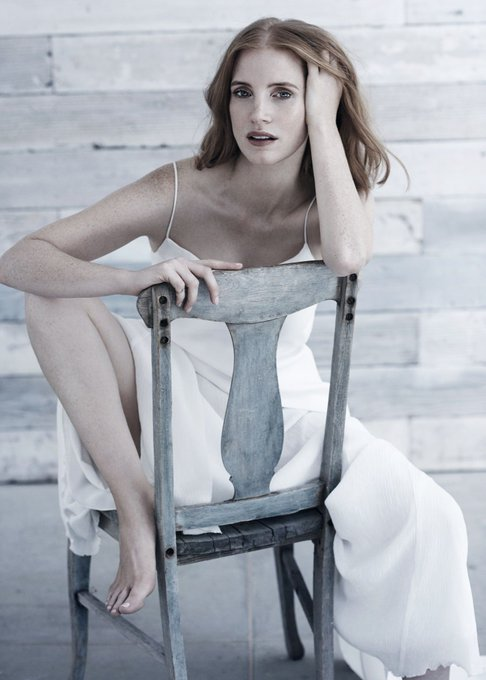 Happy birthday Jessica Chastain, you inspire me everyday to be a better hardworking person