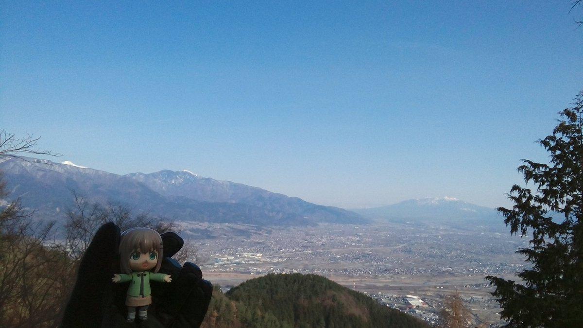 今日の八ヶ岳&鳳凰三山ちゃん#ヤマノススメ