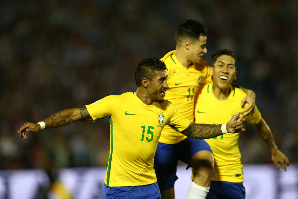 Brazil Overwhelms Uruguay 4×1 in World Cup Qualifying