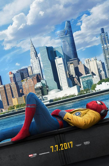 Homework can wait. The city can't. #SpiderManHomecoming