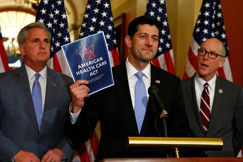 Here's the growing list of Republicans who may vote no on the GOP health care bill today