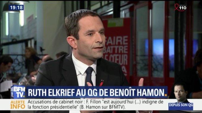 Mon adversaire absolu c'est Marine Le Pen. Je ne supporte pas le futur sinistre qu'elle propose. Moi, je propose un futur désirable.
