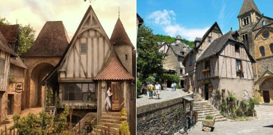 "This French town was the inspiration for ""Beauty And The Beast"" and it's so cute https://t.co/rJ7OcToGnU"