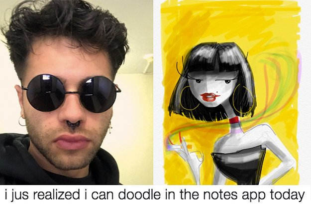 "People are loving this artist's ""doodles"" he made on his iPhone https://t.co/k85Wo5W1GM"