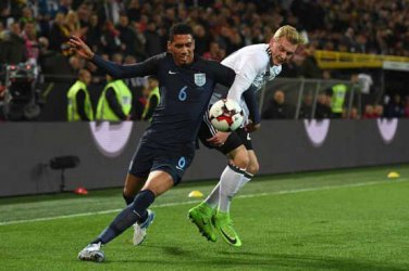 England's Smalling out of Lithuania qualifier
