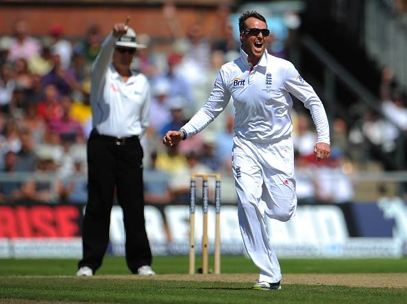 Tests - 255 wickets ODIs - 104 wickets  T20Is - 51 wickets  Happy Birthday Graeme Swann!
