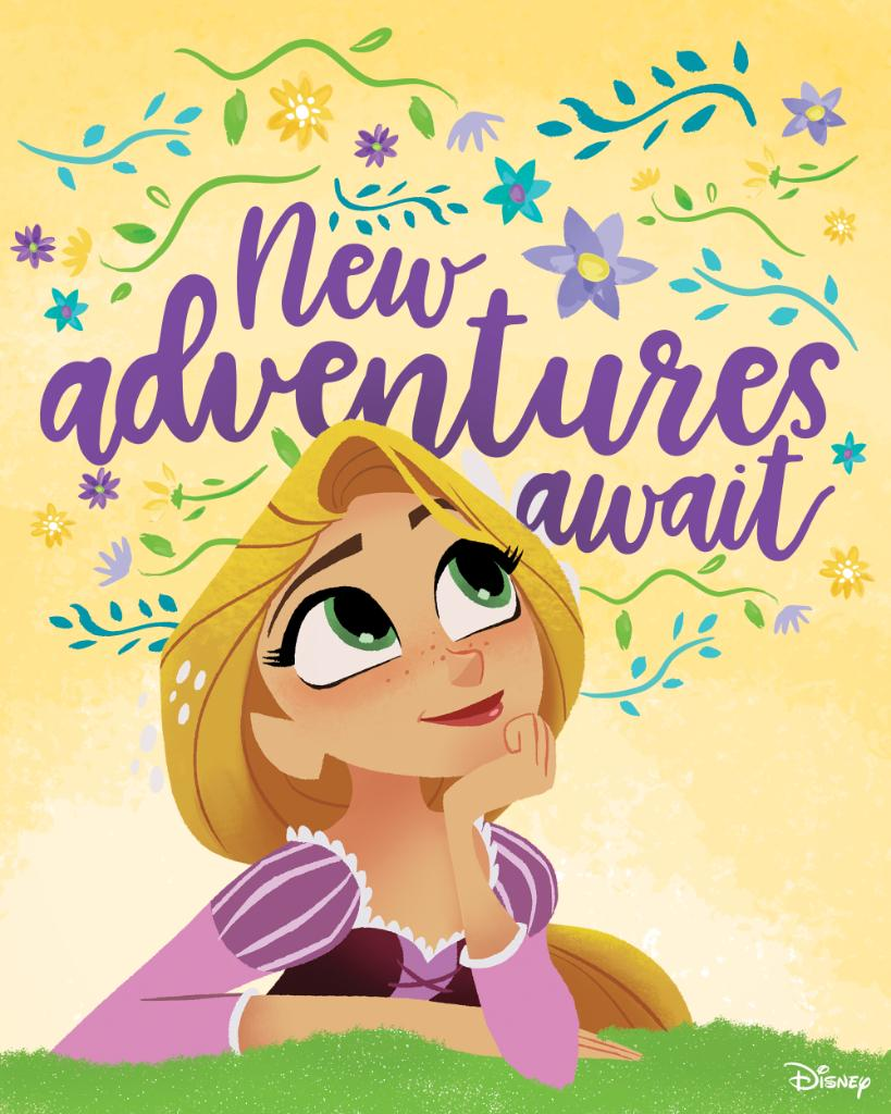 Look on the bright side of a new adventure. #TangledTheSeries debuts tonight on @DisneyChannel at 730 p.m.