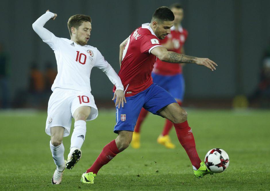 Serbia go top after comeback 3-1 win in Georgia - Football
