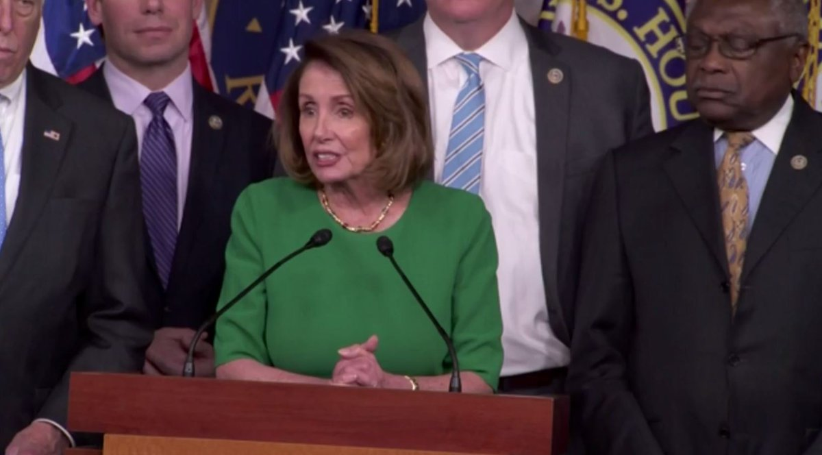 House Minority Leader @NancyPelosi press conference after House Republicans withdraw #Trumpcare health care bill https://t.co/iNtjlvA4w9