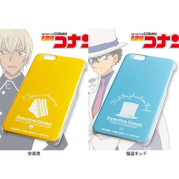 『名探偵コナン モチーフデザインiPhoneケース iPhone7』側面と曲面はクリアになっており、メリハリのついたスッ