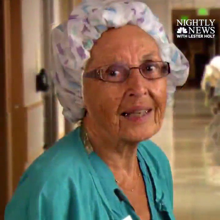 America's oldest working nurse, 91, has been on job for 70 years -- and she's still going strong. #InspiringAmerica