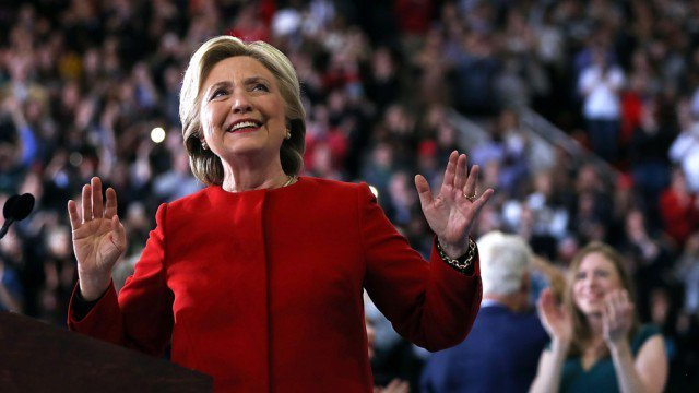 """Hillary Clinton Today was a victory, """"but this fight isn't over yet"""""""