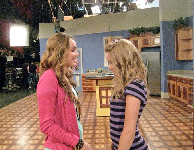 Just read online it's been 11 years since Hannah Montana aired. Coincidence considering I've only gained 11 lbs since this photo. Jk.