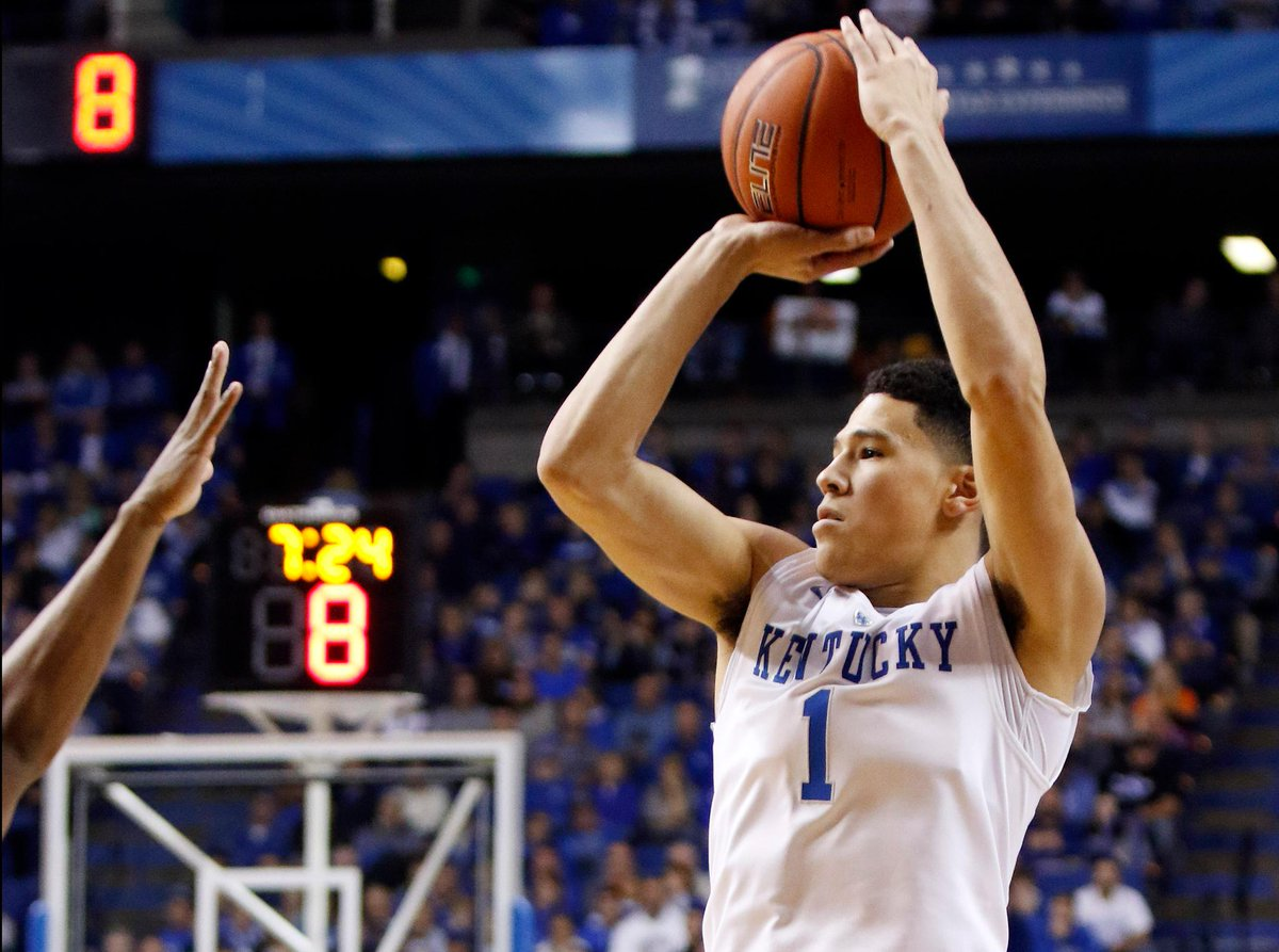 d061c62a2 Most points devin booker scored in a kentucky jersey  19