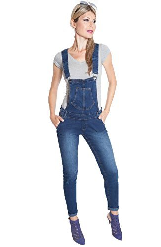 #fashion #free #style #win #giveaway Suko Jeans Classic Denim Overalls for Women adjustable straps 67428 BLUE 6 #rt