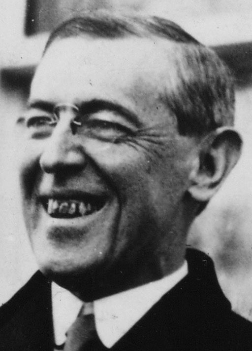 Occasional reminder that Woodrow Wilson had really grim chompers