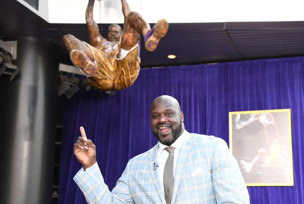 RT @espn: Shaq approves.  [Credit: Kirby Lee/USA TODAY Sports] https://t.co/PZxWFnXgcy