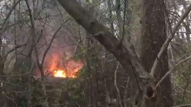 DEVELOPING Small private plane crashes into Georgia home