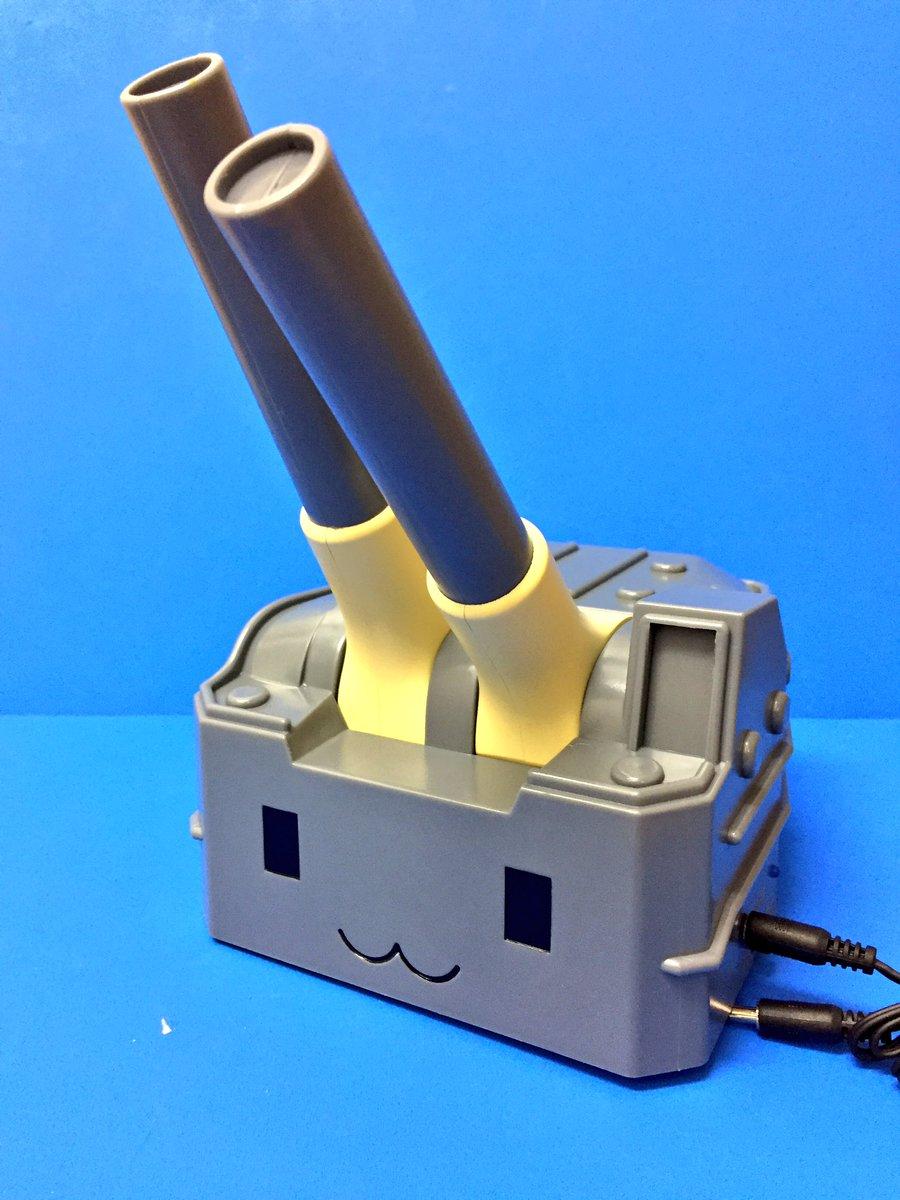 【プライズ】新入荷!『#艦隊これくしょん - #艦これ - スマホスピーカー』可愛い連装砲ちゃん型のスマホスピーカーがH