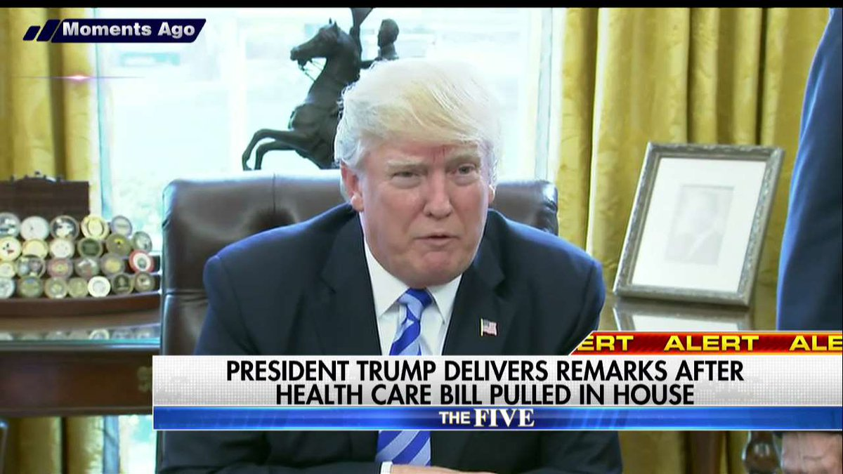 'ObamaCare Will Explode': @realDonaldTrump Reacts to Pulling of GOP Health Care Bill #ObamaCareRepeal #ObamaCare https://t.co/wOZ1A9p8e1