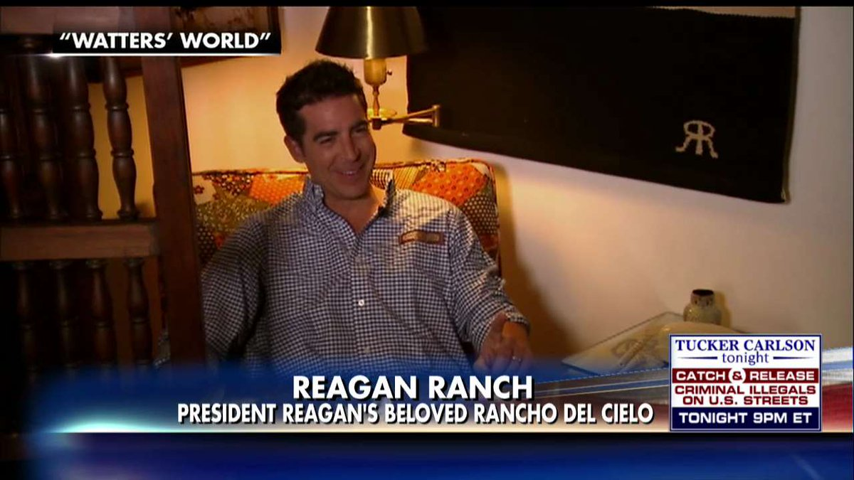 Don't miss @jessebwatters' tour of the historic Reagan Ranch on @WattersWorld - Saturday at 8p ET on Fox News! https://t.co/vP4SJZcaST