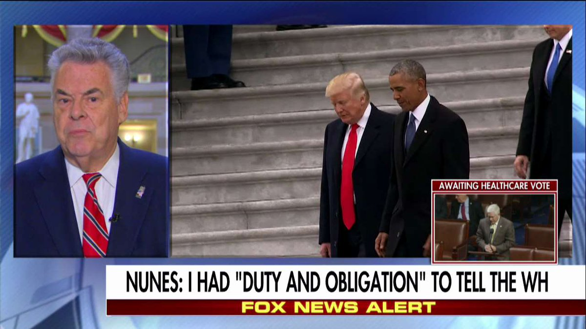 'It's Scandalous': Rep. King Says Nunes Had to Tell Trump About Surveillance @AmericaNewsroom @edhenry https://t.co/K3j5mPl94h