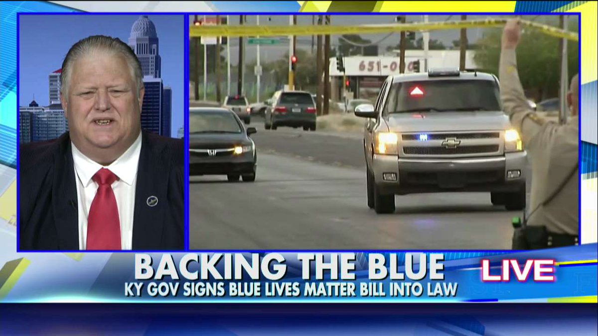 Kentucky Becomes 2nd State to Pass a Blue Lives Matter Bill @HuntsmanAbby @FoxFriendsFirst https://t.co/qAmN22dEsp