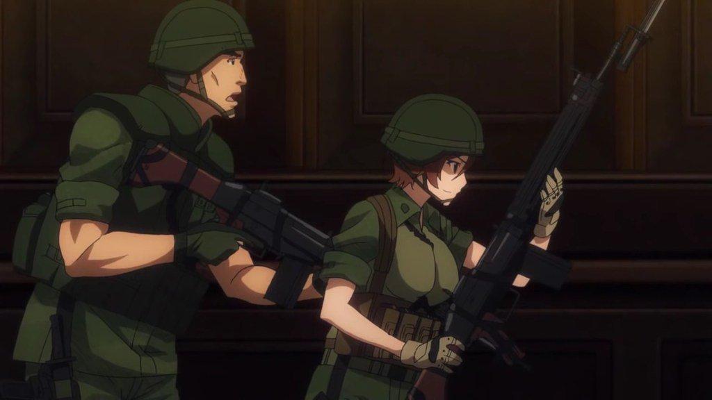 【GATE】自衛隊 彼の地にて、斯く戦えり14話