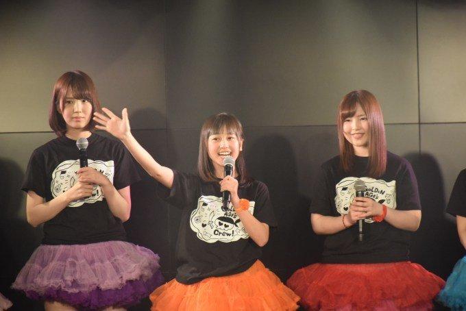 黄金時代に新メンバーが3人加入。定期公演「ゴールデンタイム」で新生黄金時代が初ステージをダイナミックにぶち噛ました!!
