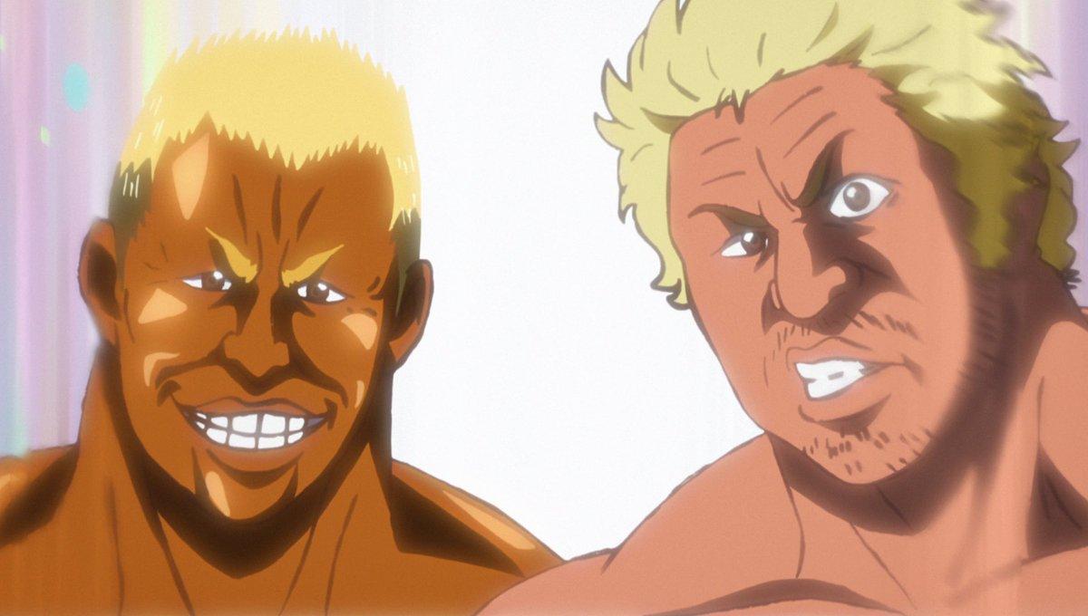 今夜、2:30からの #タイガーマスクW 24話で真壁選手と本間選手は新日本プロレスの看板を背負ってモノポリーに挑む(ボ