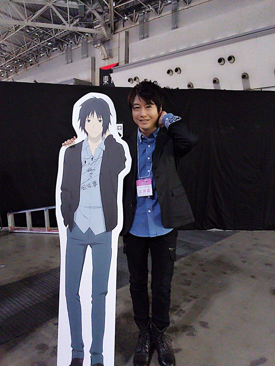 アニメジャパン「夏目友人帳ステージ」無事に終わりました!陸期の放送を前にファンの皆様と集いお話が出来て、ニャンコ先生こと