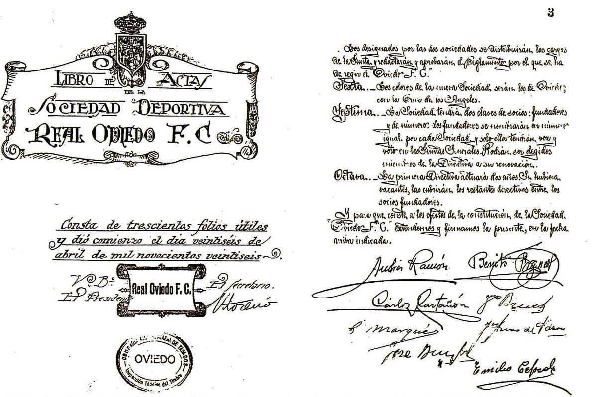 RT @RealOviedo: ¡Felices 91 años de historia, oviedistas! #RealOviedo91 #RealOviedo https://t.co/ocnpetyOZz