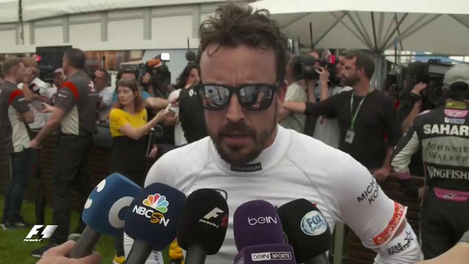 'It's a positive...but definitely not enough' - @alo_oficial (P13)  #F1isBack #AusGP