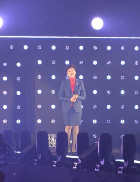 第24回TGCが開幕、小池百合子・東京都知事が東京ガールズにエール https://t.co/uQFFlnmRn6