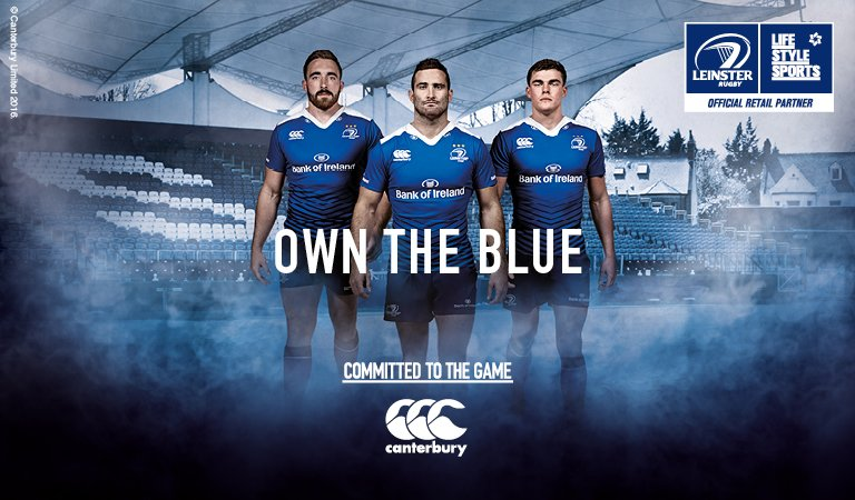 Make sure you've got your blue on. Head over to our RDS store to pick up all your @LeinsterRugby needs #LEIvCAR https://t.co/jCq1v43ono