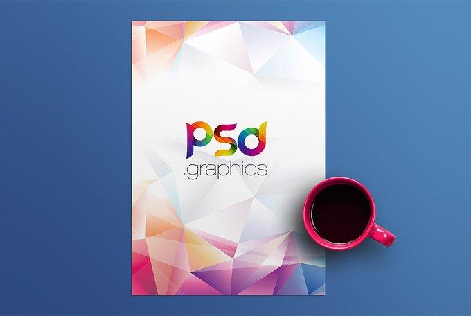 A4 Paper Mockup Free PSD Mockups freepsd psd freebie download