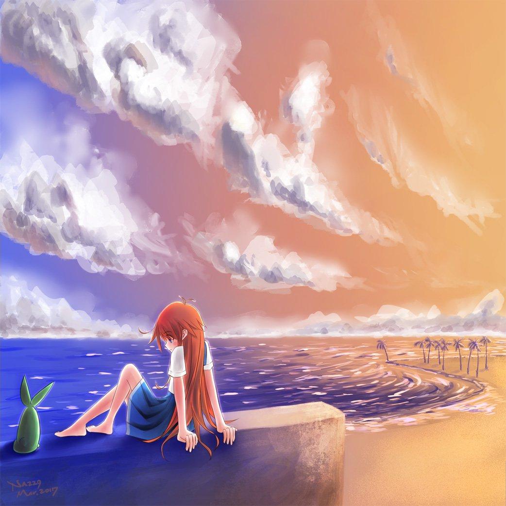 パピカと宵の海#フリフラ_アニメ