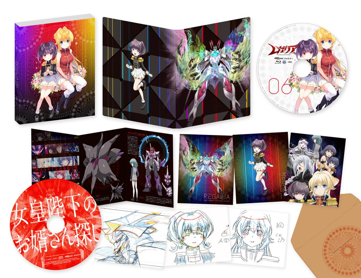 【BD&DVD情報】最終巻第6巻は4/4発売!初回特典は、QP:flapper描き下ろしスリーブ、西尾公伯&am