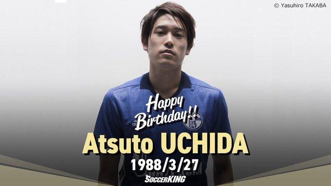 🎂🎊🎉HAPPY BIRTHDAY🎉🎊🎂 本日3月27日、 #シャルケ (@s04_jp)の #内田篤人 が29歳の #誕生日 を迎えました。おめでとうございます! #HBD #サッカーキング https://t.co/cege88gGf0
